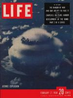 Life Magazine, February 27, 1950 - Atomic war, bomb