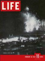 Life Magazine, February 28, 1938 - Riviera fireworks