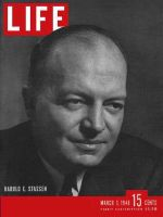 Life Magazine, March 1, 1948 - Harold Stassen