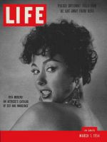 Life Magazine, March 1, 1954 - Rita Moreno