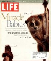 Life Magazine, March 1, 1997 - Endangered Species Born In Zoos
