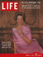 Life Magazine, March 2, 1959 - Europe's best dressed, fashion