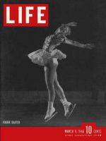 Life Magazine, March 4, 1946 - Champion ice skater