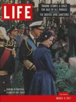 Life Magazine, March 4, 1957 - Royal reunion
