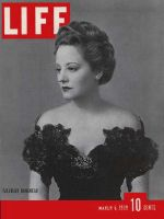 Life Magazine, March 6, 1939 - Tallulah Bankhead