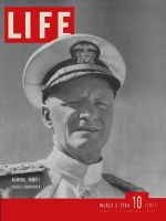 Life Magazine, March 6, 1944 - Admiral Nimitz