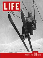 Life Magazine, March 8, 1937 - Sun Valley, Skiing