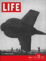 Life Magazine, March 9, 1942 - Barrage balloons
