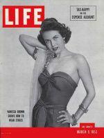 Life Magazine, March 9, 1953 - Vanessa Brown
