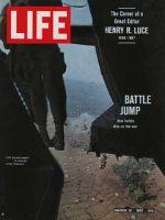 Life Magazine, March 10, 1967 - U.S. paratroopers over Vietnam