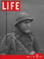 Life Magazine, March 11, 1940 - French sentry
