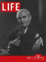 Life Magazine, March 11, 1946 - Senator Vandenberg