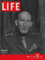 Life Magazine, March 12, 1945 - General Simpson