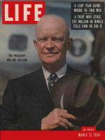 Life Magazine, March 12, 1956 - Eisenhower Seeking second term