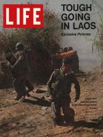Life Magazine, March 12, 1971 - South Vietnamese soldiers in Laos