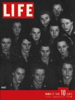 Life Magazine, March 15, 1943 - WAVES, women