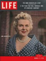 Life Magazine, March 15, 1954 - Bobo Rockefeller