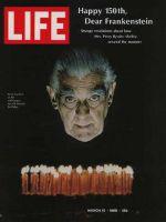 Life Magazine, March 15, 1968 - Boris Karloff