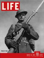 Life Magazine, March 16, 1942 - Infantryman