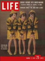 Life Magazine, March 17, 1958 - The McGuire Sisters