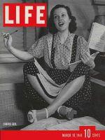 Life Magazine, March 18, 1940 - Chorus girl