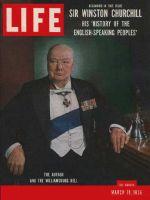 Life Magazine, March 19, 1956 - Churchill on Britain