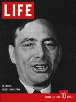 Life Magazine, March 20, 1939 - Rep. Joe Martin