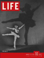 Life Magazine, March 20, 1944 - Ballet dancer