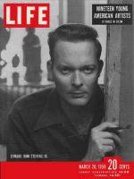 Life Magazine, March 20, 1950 - Artist Edward John Stevens