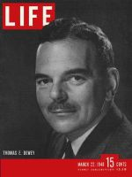 Life Magazine, March 22, 1948 - Governor Dewey