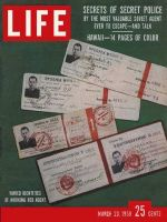 Life Magazine, March 23, 1959 - Soviet agent's story