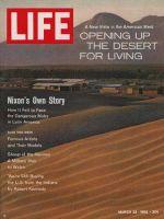 Life Magazine, March 23, 1962 - Desert housing development