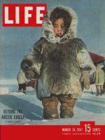 Life Magazine, March 24, 1947 - Eskimo child in Arctic
