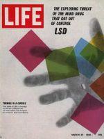 Life Magazine, March 25, 1966 - LSD capsule, drugs