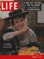 Life Magazine, March 26, 1956 - Julie Andrews