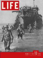 Life Magazine, March 27, 1944 - Landing in Italy