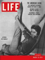 Life Magazine, March 29, 1954 - Pat Crowley