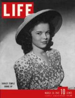 Life Magazine, March 30, 1942 - Shirley Temple