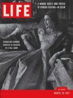 Life Magazine, March 30, 1953 - Coronation fashions