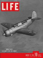 Life Magazine, March 31, 1941 - Carrier bomber