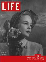 Life Magazine, March 31, 1947 - Spring hats