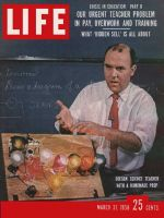 Life Magazine, March 31, 1958 - Trials of teachers