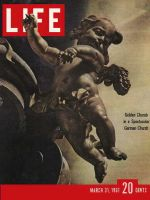 Life Magazine, March 31, 1961 - German rococo, cherub