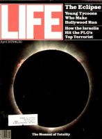 Life Magazine, April 1, 1979 - Solar Eclipse