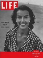Life Magazine, April 2, 1951 - New World Riviera, fashion