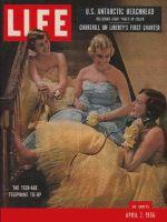 Life Magazine, April 2, 1956 - Three Talky teens