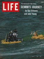 Life Magazine, April 2, 1965 - Gemini's splashdown