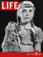 Life Magazine, April 3, 1939 - Look-alike dolls