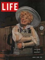 Life Magazine, April 3, 1964 - Carol Channing as Dolly