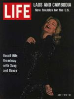 Life Magazine, April 3, 1970 - Lauren Bacall